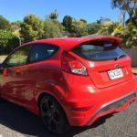 Race Red Fiesta ST